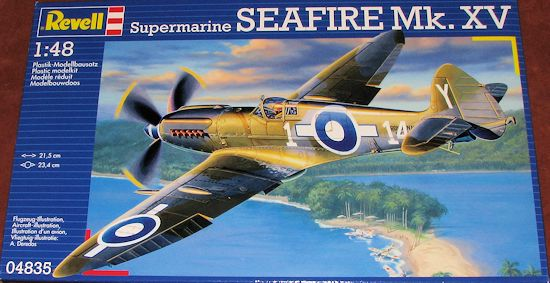 revell ag 1 48 seafire xv previewed by scott van aken