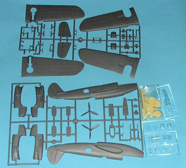 Valom 1//72 modèle kit 72015 bell YFM-1 AIRACUDA