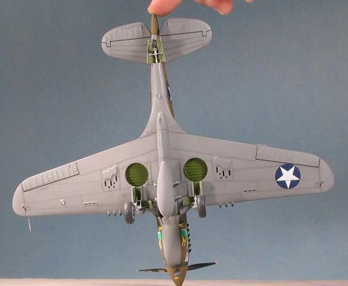 P 40 Landing Gear 1 48