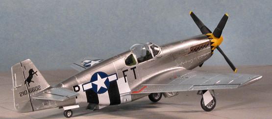Academy 1/72 P-51B Mustang, by Scott Van Aken