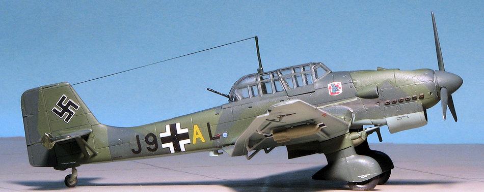 AIRFIX A03087 Junkers Ju 87B-1 Stuka 1:72