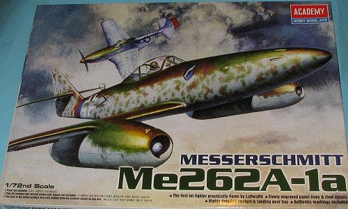 Academy 1/72 Me-262A-1a, previewed by Scott Van Aken