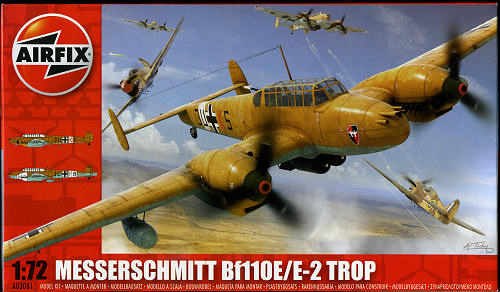 Airfix 172 Bf 110ee 2 Trop Previewed By Scott Van Aken