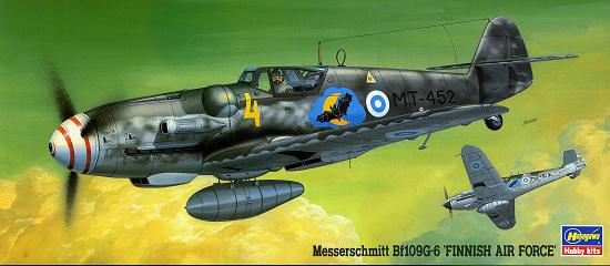Hasegawa 02279-1//72 B239 Buffalo /& ME BF109G6 Finish airforce Neu