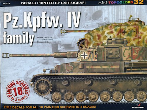 Kagero's Pz Kpfw IV family, reviewed by Scott Van Aken