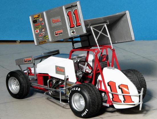 Monogram 1 24 Steve Kinser Sprint Car By Scott Van Aken