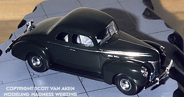 Lindberg 1 25 1940 Ford Coupe By Scott Van Aken