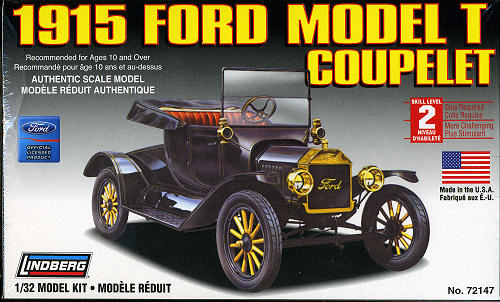 What Did Henry Ford Invent >> Lindberg 1/32 Model T Ford Coupelet, previewed by Scott Van Aken
