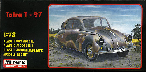 attack hobbies 1 72 tatra t 97 previewed by scott van aken rh modelingmadness com