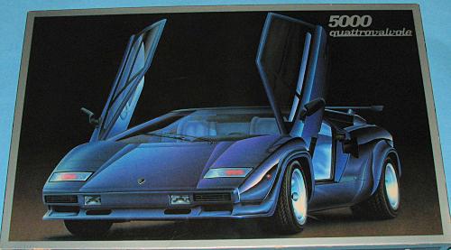 Fujimi 1 16 Lamborghini Countach Previewed By Scott Van Aken