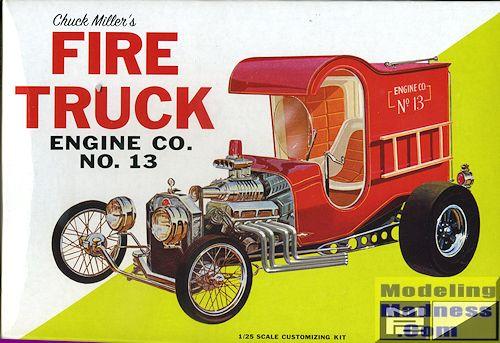 MPC 1/25 Chuck Miller's Fire Truck, previewed by Scott Van Aken