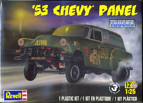 Revell 1 25 53 Chevy Panel Previewed By Scott Van Aken