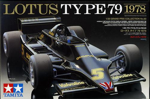 Tamiya Automotive Model 1//20 Car Lotus Type 79 1978 Scale Hobby 20060