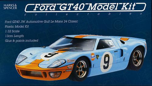 sc 1 st  Modeling Madness & Marks u0026 Spencer 1/32 Ford GT-40 Mk.I previewed by Scott Van Aken markmcfarlin.com