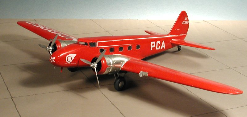 Plastic Light Covers >> Williams Brothers 1/72 Boeing 247