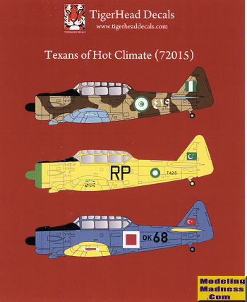 Tigerhead Decals 72015: Texans of Hot Climate, previewed by