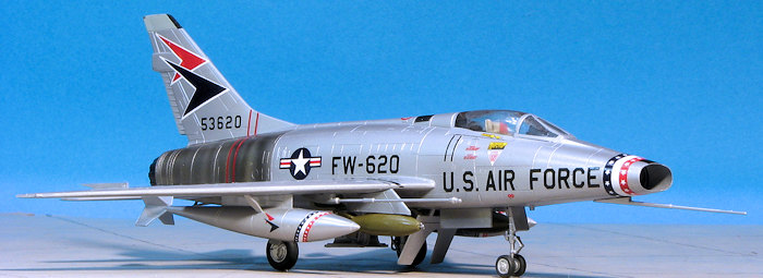 Aside from the redundant canopy frame this is a nice kit. Fit is good and it is a lot more available than the ESCI kit. It also does not suffer from the ...  sc 1 st  Modeling Madness & Tamiya 1/72 F-100D Super Sabre previewed by Scott Van Aken