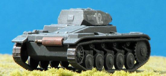 Zvezda 1:100 WWII Deutscher Panzer II