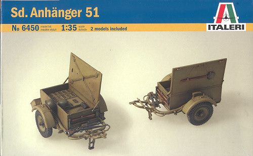Italeri 1 35 German Ammo Trailers Previewed By Scott Van Aken