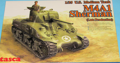 TASCA 1/35 M4A1 Sherman (Late Production), previewed by