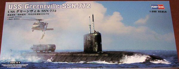 Hobby Boss 83531 Plastikmodellbau Schiffahrt USS Greeneville SSN-772