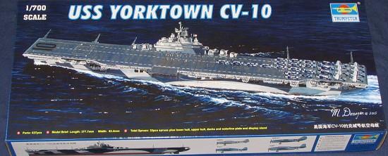 trumpeter 1  700 uss yorktown cv
