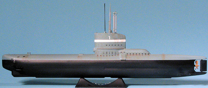 icm 1 144 type xxiii u boat, by scott van aken German Type XXIII Submarine