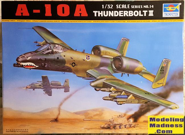 Trumpeter 1 32 A 10a Thunderbolt Ii Previewed By Scott Van Aken