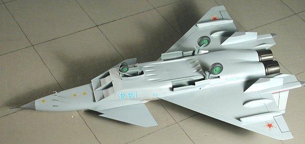 Zvezda 172 MiG 144 by Scott Van