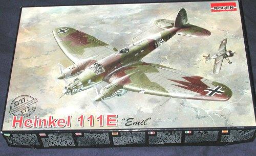 Roden 027-1:72 He-111E /'/'Emil/'/' Neu