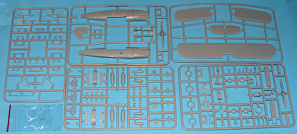 1:72 Amodel #72194 Hawker Hector British reconnaisance-fighter plane