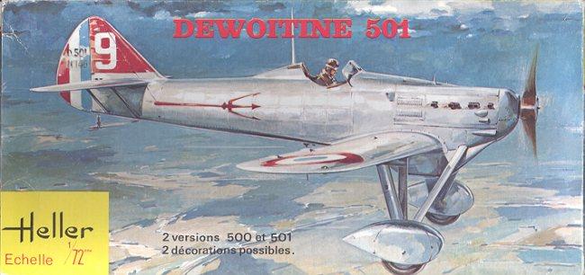 [Heller] Dewoitine D501 D501bt