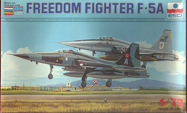 ESCI 172 F 5A Freedom Fighter Preview