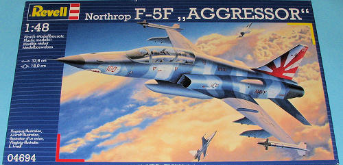 revell 1 48 f 5f aggressor previewed by scott van aken